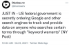 US Government Takes It in Their Collective Asses by google, again!