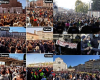 Mass Protests in Italy Oct. 16, 2021